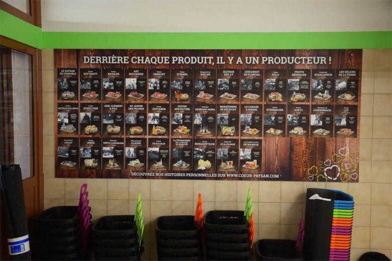 Panneaux des producteurs
