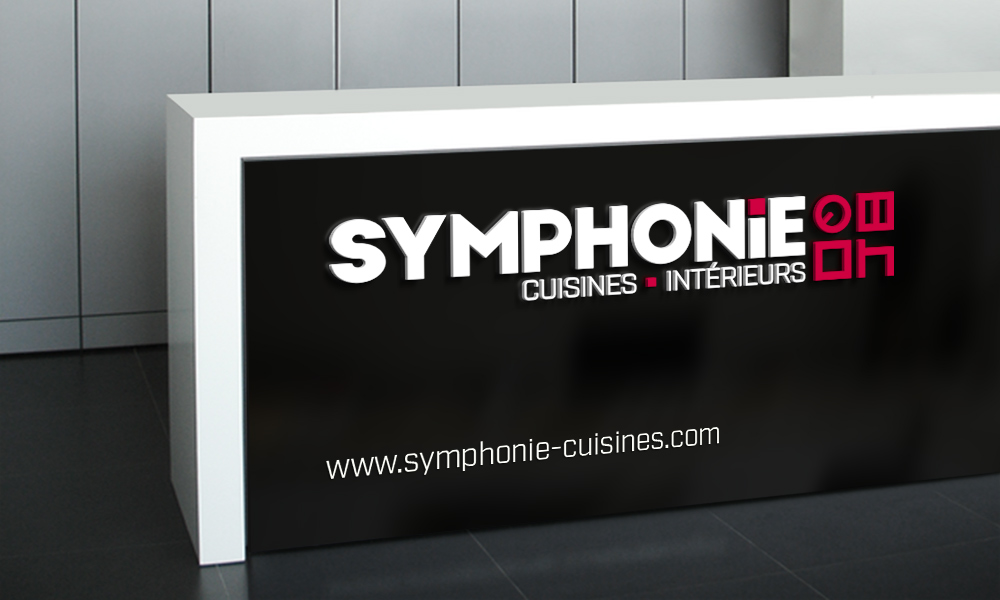 SYMPHONIE CUISINES LOGO SITE INTERNET ENSEIGNE VIDEO - Symphonie cuisine